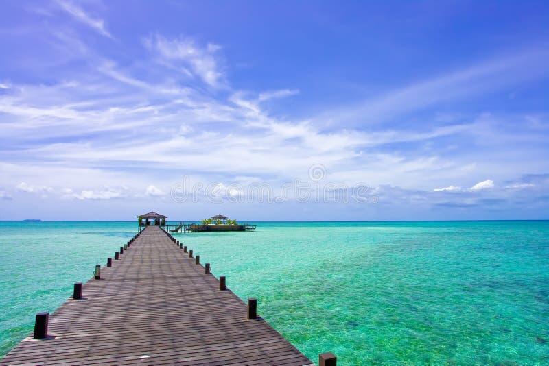 θέρετρο kapalai νησιών στοκ εικόνες