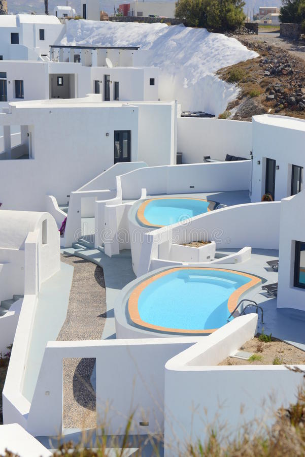 Θέρετρο Santorini στοκ φωτογραφία με δικαίωμα ελεύθερης χρήσης