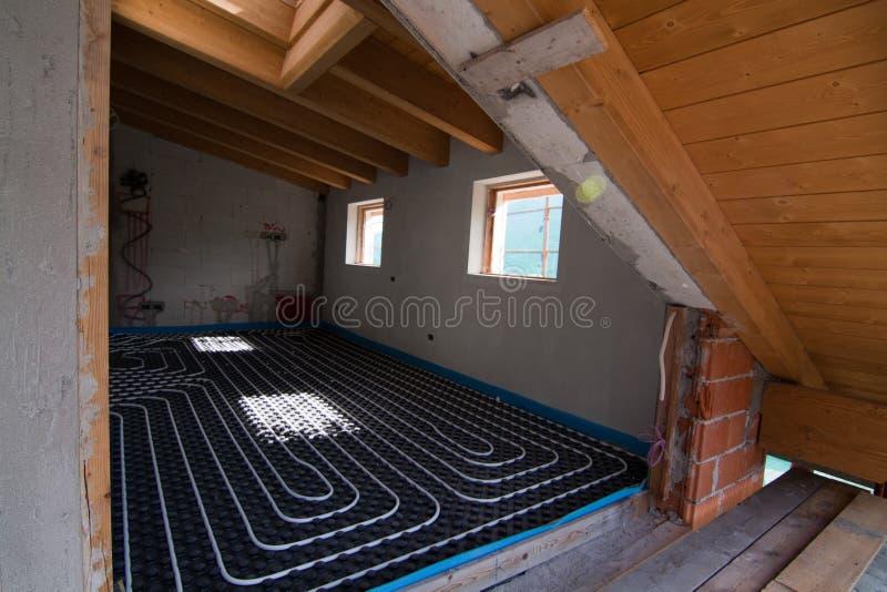 θέρμανση underfloor στοκ εικόνες με δικαίωμα ελεύθερης χρήσης