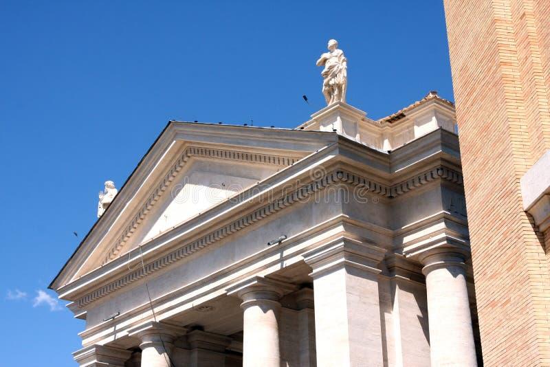 Θέση Βατικανό Ρώμη Ιταλία σημαδιών του ST στοκ φωτογραφία με δικαίωμα ελεύθερης χρήσης