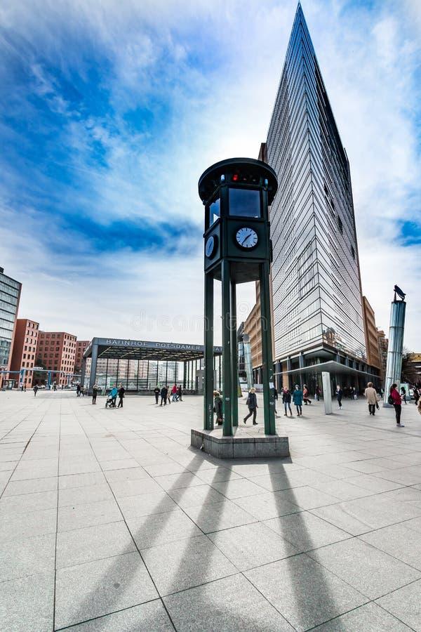 Θέση Βερολίνο του Πότσνταμ στοκ φωτογραφία με δικαίωμα ελεύθερης χρήσης