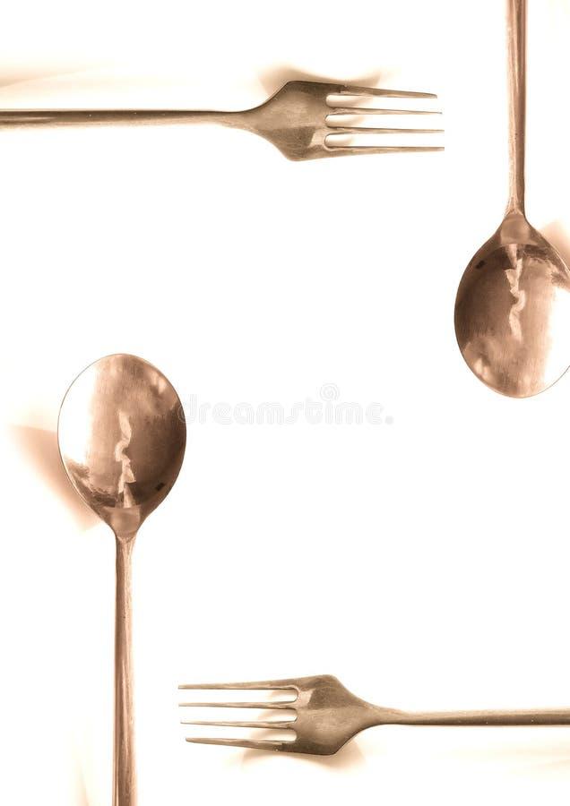Download θέση γευμάτων στοκ εικόνα. εικόνα από πείνα, κουτάλι, πεινασμένος - 95329