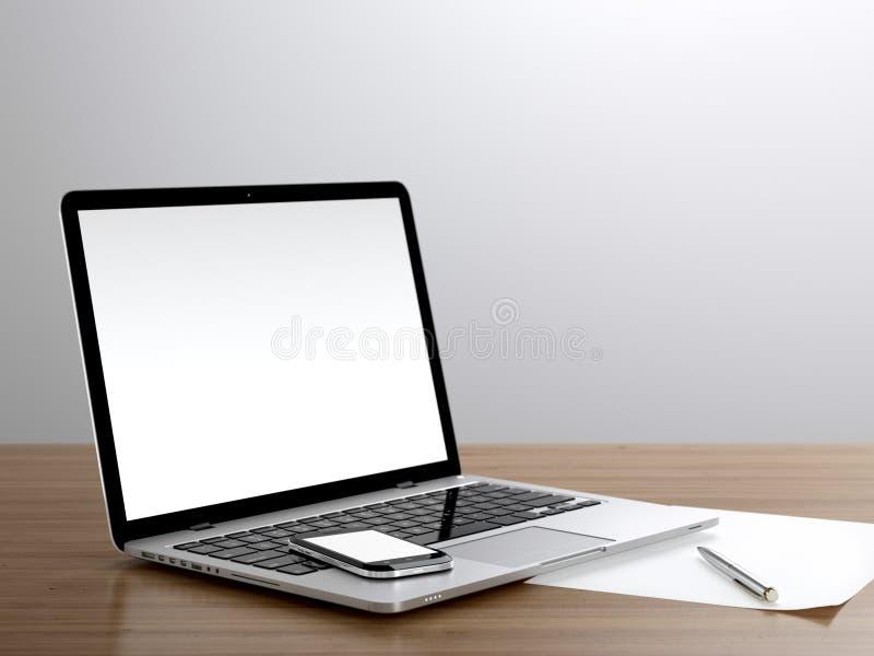 Θέση εργασίας στοκ φωτογραφία με δικαίωμα ελεύθερης χρήσης
