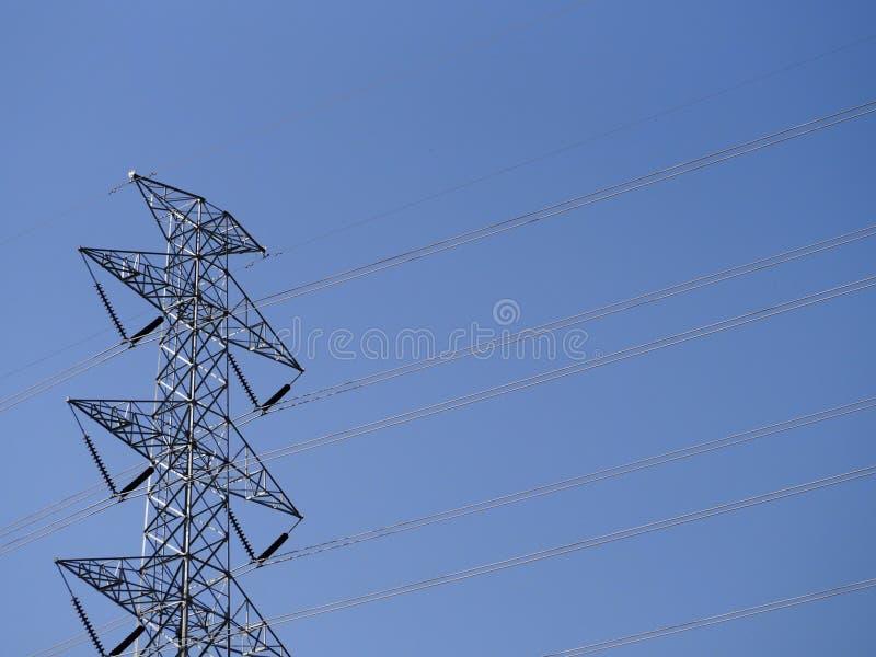 Θέση ηλεκτρικής ενέργειας στοκ φωτογραφίες με δικαίωμα ελεύθερης χρήσης