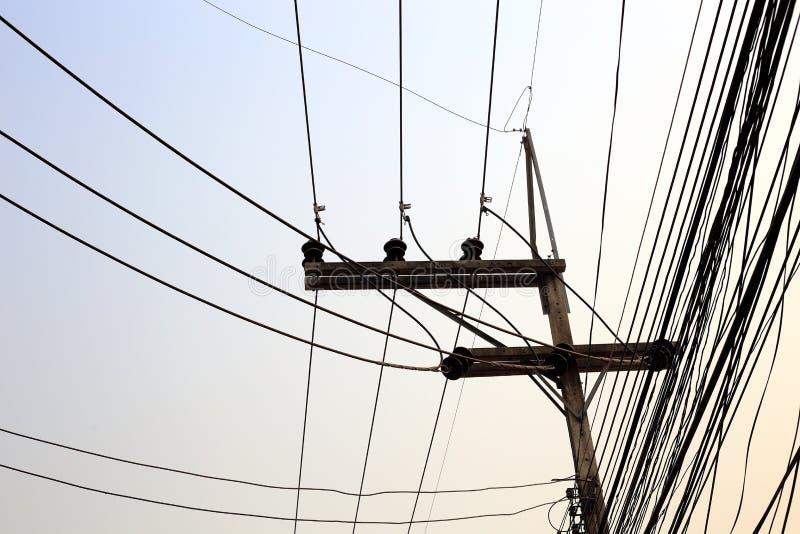 Θέση ηλεκτρικής ενέργειας στοκ φωτογραφία