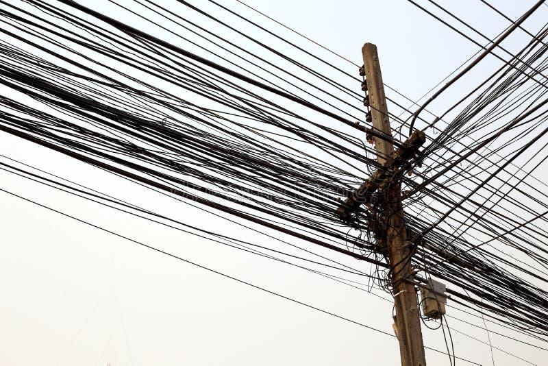 Θέση ηλεκτρικής ενέργειας στοκ εικόνες