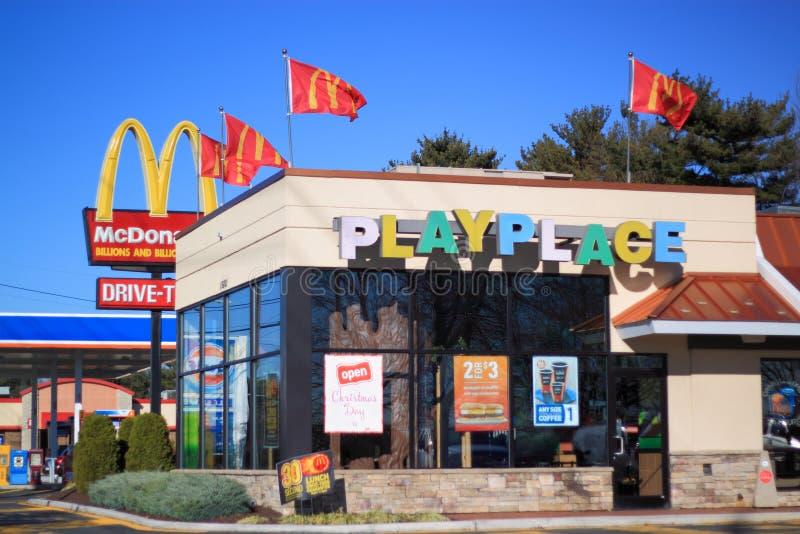 Θέση παιχνιδιού McDonald στοκ φωτογραφία με δικαίωμα ελεύθερης χρήσης
