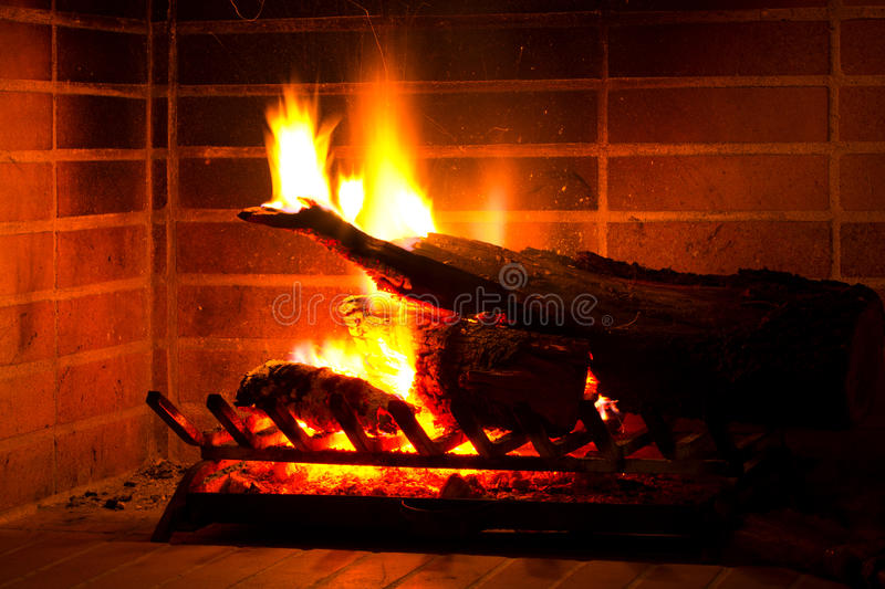 Θέση πυρκαγιάς στοκ εικόνα με δικαίωμα ελεύθερης χρήσης