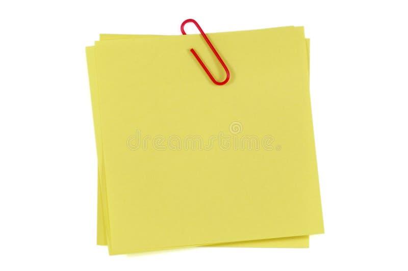 θέση σημειώσεων συνδετήρων στοκ φωτογραφίες με δικαίωμα ελεύθερης χρήσης
