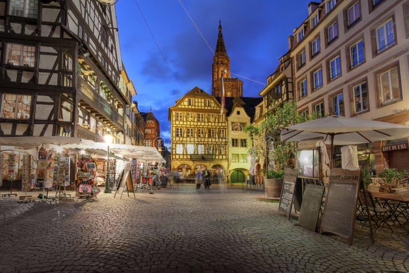 θέση Στρασβούργο du Γαλλί&alpha στοκ εικόνες