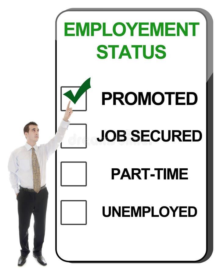 θέση employement στοκ εικόνες