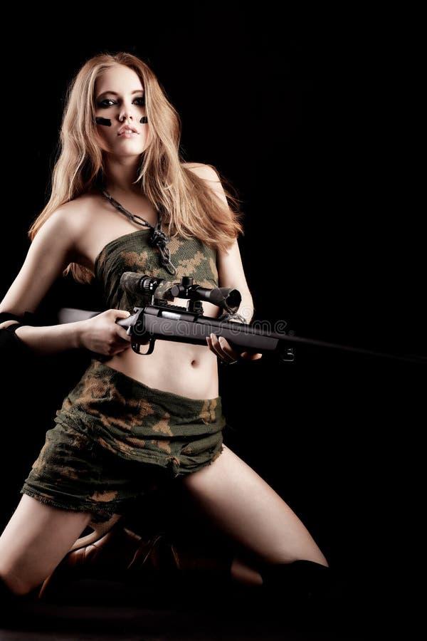 θέτοντας στρατιώτης στοκ φωτογραφίες με δικαίωμα ελεύθερης χρήσης