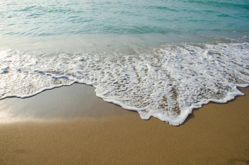 Θαλάσσια κύματα στη Μαύρη Θάλασσα στοκ εικόνα με δικαίωμα ελεύθερης χρήσης