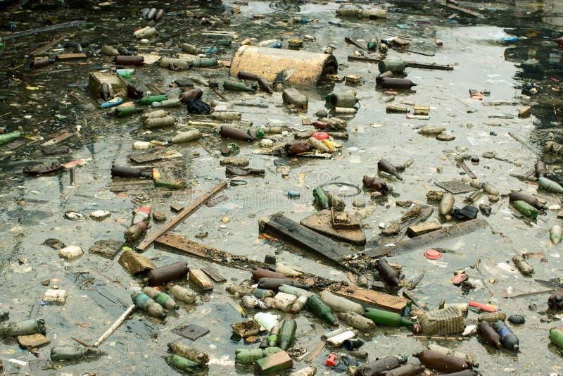 θαλάσσια ρύπανση στοκ εικόνα με δικαίωμα ελεύθερης χρήσης
