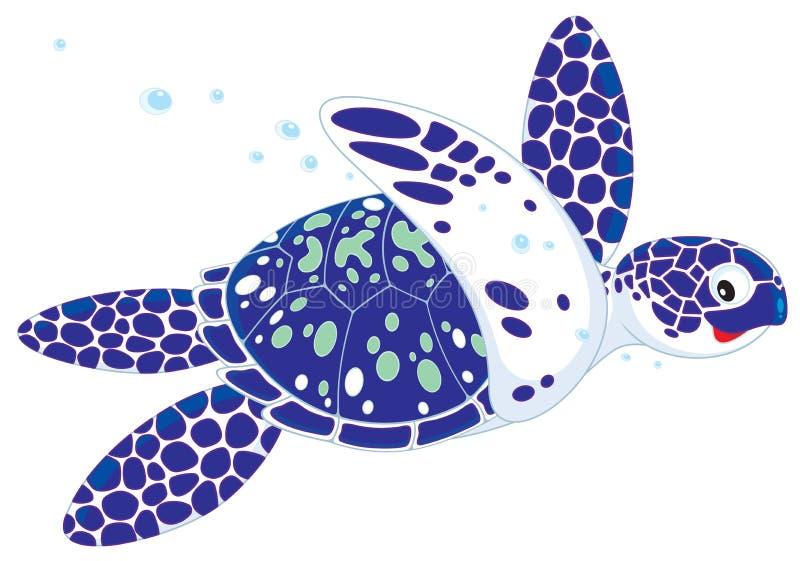 θαλάσσια χελώνα απεικόνιση αποθεμάτων