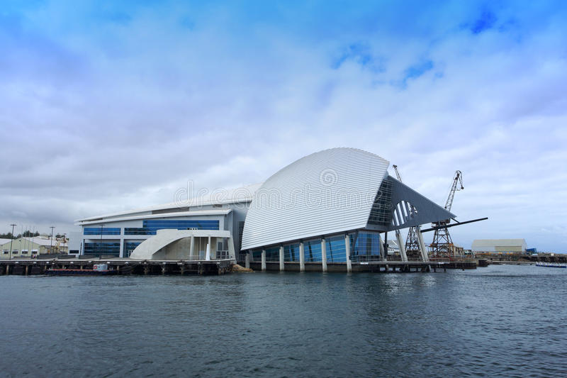Θαλάσσιο μουσείο Fremantle, δυτική Αυστραλία. στοκ εικόνα με δικαίωμα ελεύθερης χρήσης
