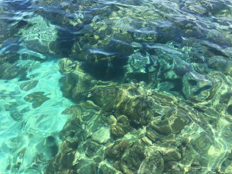 Θαλάσσιο νερό στο lipe του thailland στοκ φωτογραφίες με δικαίωμα ελεύθερης χρήσης