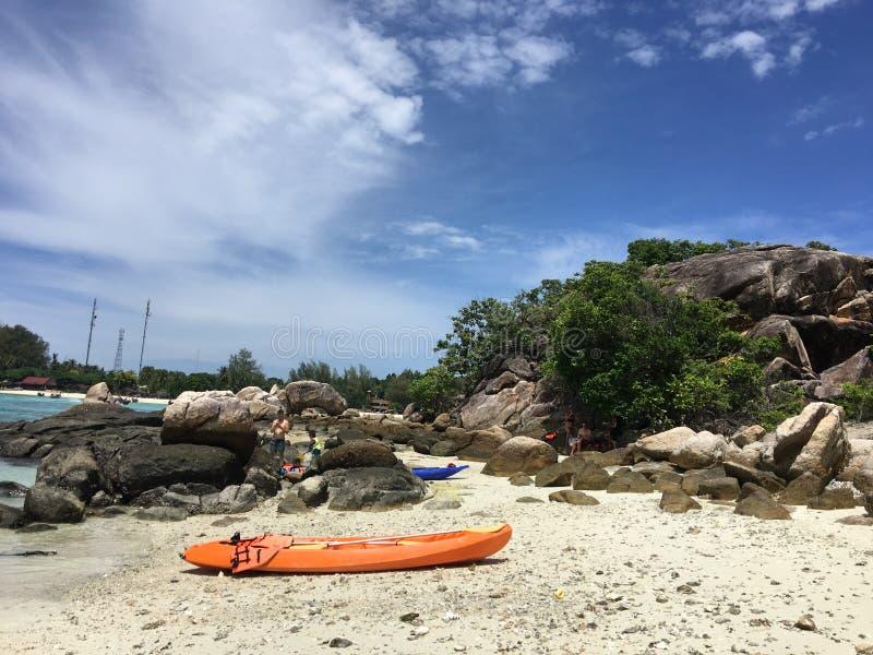 Θαλάσσιο νερό στο lipe του thailland στοκ φωτογραφία με δικαίωμα ελεύθερης χρήσης