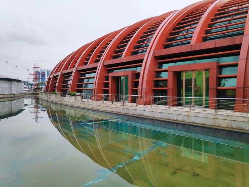 Θαλάσσιο πάρκο ζωής στο νησί Sentosa, Σιγκαπούρη στοκ εικόνες με δικαίωμα ελεύθερης χρήσης
