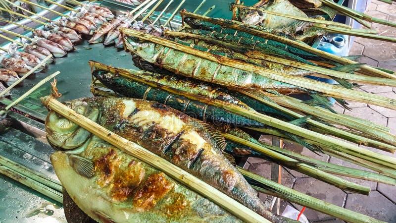 Θαλασσινά στην επαρχία Kep, Καμπότζη στοκ εικόνα