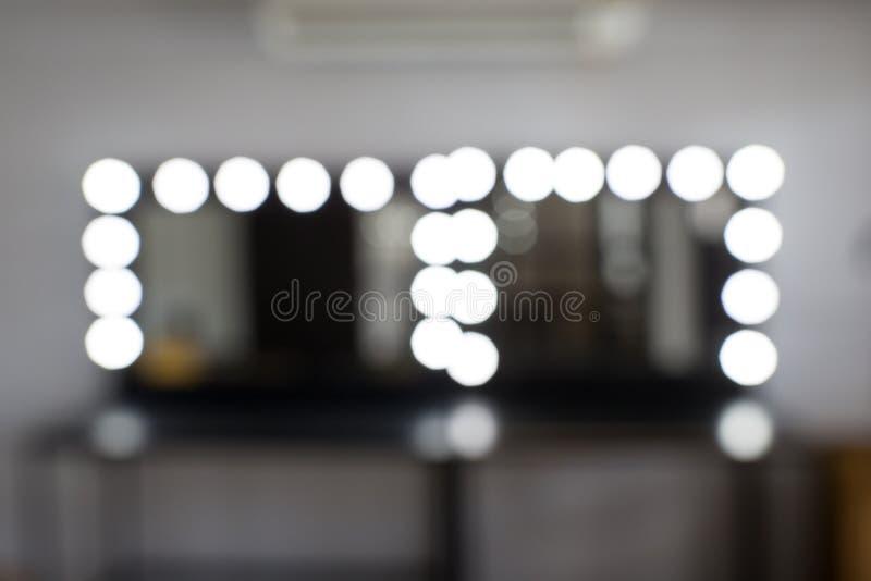 Θαμπάδα δωματίων Makeup και bokeh στοκ εικόνες με δικαίωμα ελεύθερης χρήσης