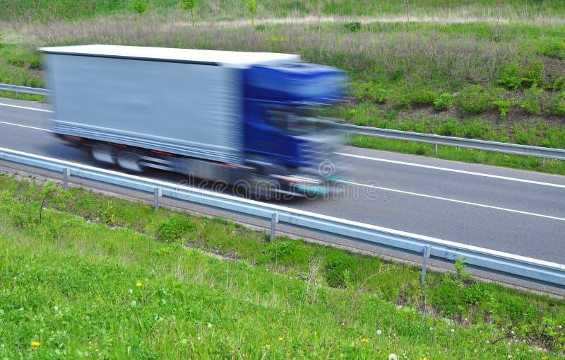 Θαμπάδα φορτηγών στοκ εικόνα
