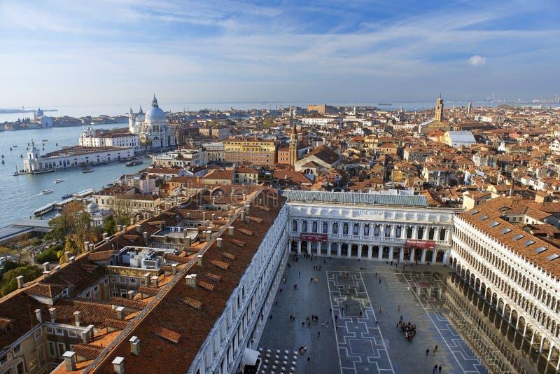 Θαυμάσια άποψη της παλαιάς Βενετίας από ένα ύψος στοκ εικόνες με δικαίωμα ελεύθερης χρήσης