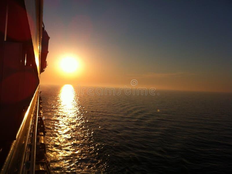 Θαυμάσια ηλιοφάνεια κρουαζιέρας στοκ φωτογραφίες με δικαίωμα ελεύθερης χρήσης