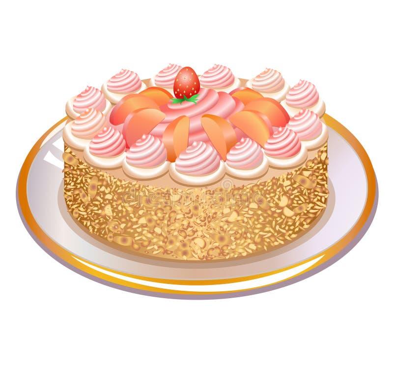 Θαυμάσια πίτα απεικόνιση αποθεμάτων
