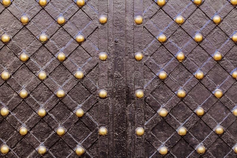 θαυμάσιες πύλες επεξεργασμένος-σιδήρου, διακοσμητικό σφυρηλατημένο κομμάτι, απεικόνιση αποθεμάτων