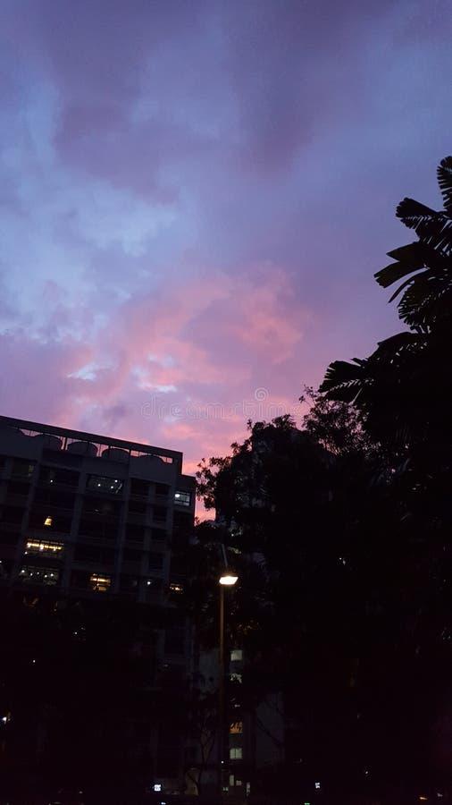 Θαυμάσιος ουρανός στοκ εικόνες