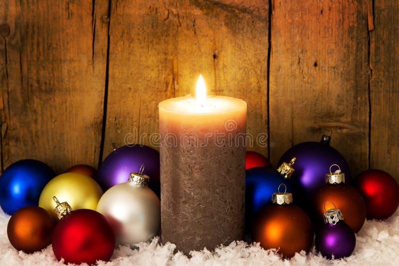 Θαυμάσιο υπόβαθρο Χριστουγέννων στοκ εικόνα