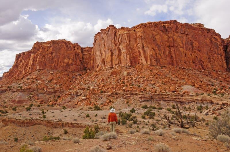 Θαυμασμός δραματικών βράχος στο νοτιοδυτικό σημείο στοκ εικόνες με δικαίωμα ελεύθερης χρήσης