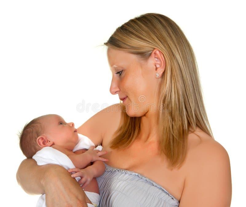 Θαυμασμός του μωρού της στοκ εικόνες με δικαίωμα ελεύθερης χρήσης