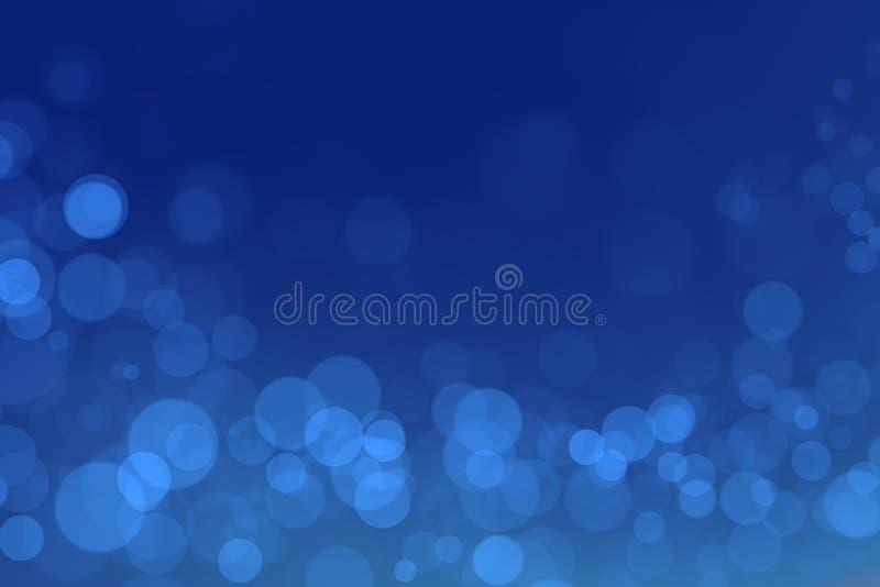 Θαύμα bokeh με το μπλε υπόβαθρο κλίσης στοκ φωτογραφία με δικαίωμα ελεύθερης χρήσης