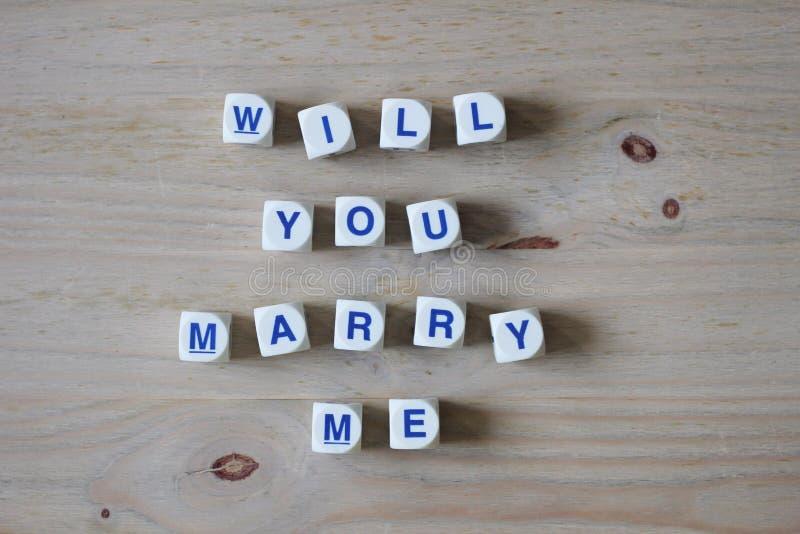 Θα με παντρεψετε στοκ εικόνα με δικαίωμα ελεύθερης χρήσης