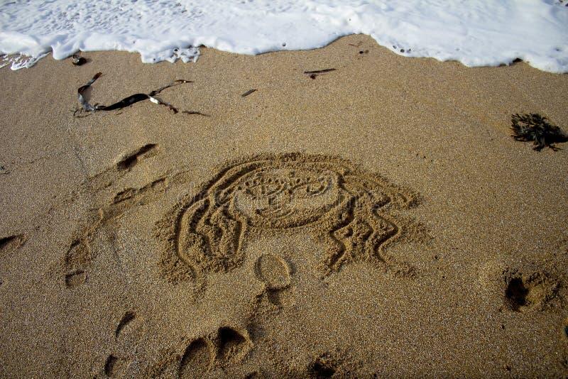 Θεά άμμου στοκ εικόνες