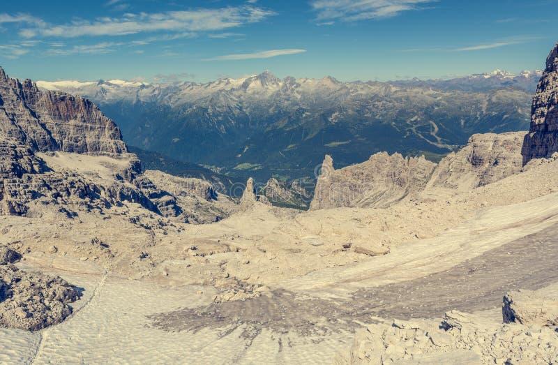 Θεαματική θέα βουνού στοκ φωτογραφία