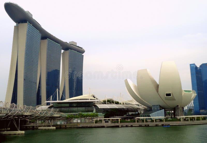 Θεαματική Σιγκαπούρη στοκ φωτογραφία με δικαίωμα ελεύθερης χρήσης