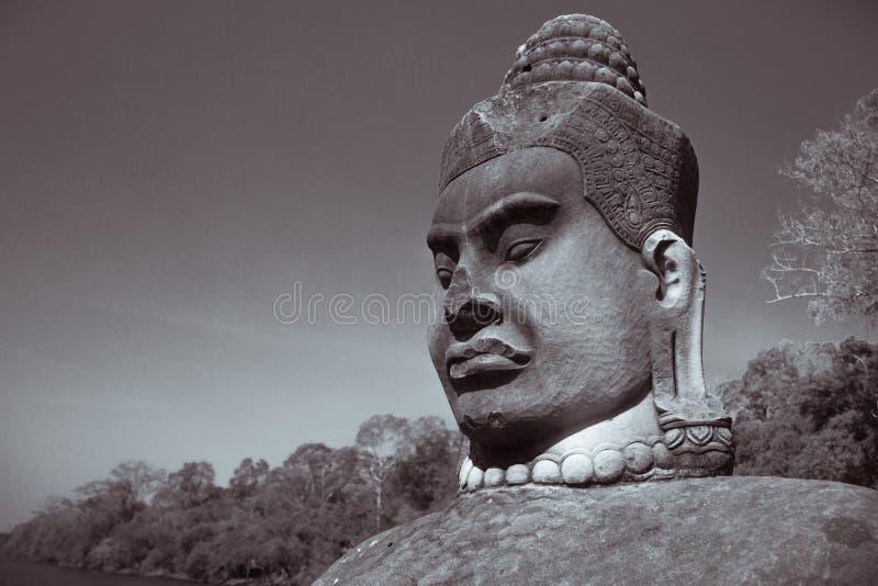 ΘΕΟΣ Angkor στοκ εικόνες