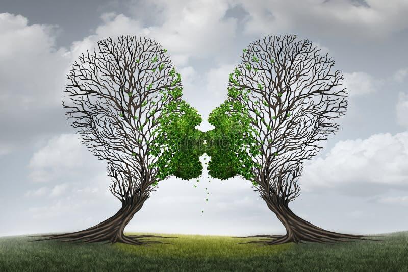 Θεραπεία αγάπης διανυσματική απεικόνιση
