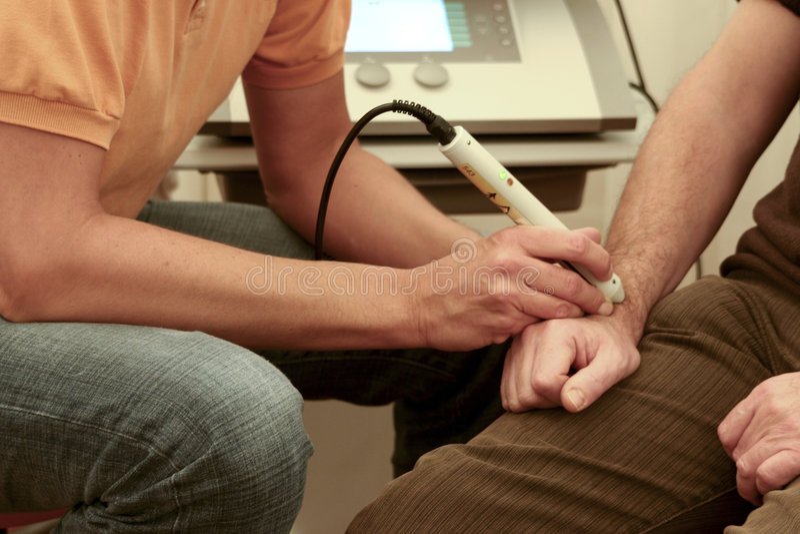 θεραπεία λέιζερ στοκ φωτογραφία με δικαίωμα ελεύθερης χρήσης