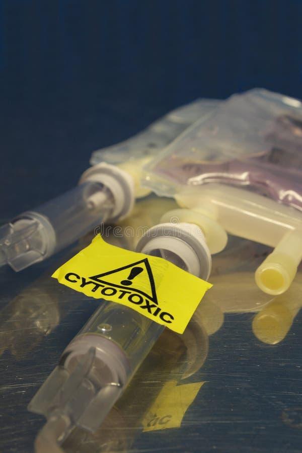 θεραπεία σταλαγματιών chemo στοκ εικόνες