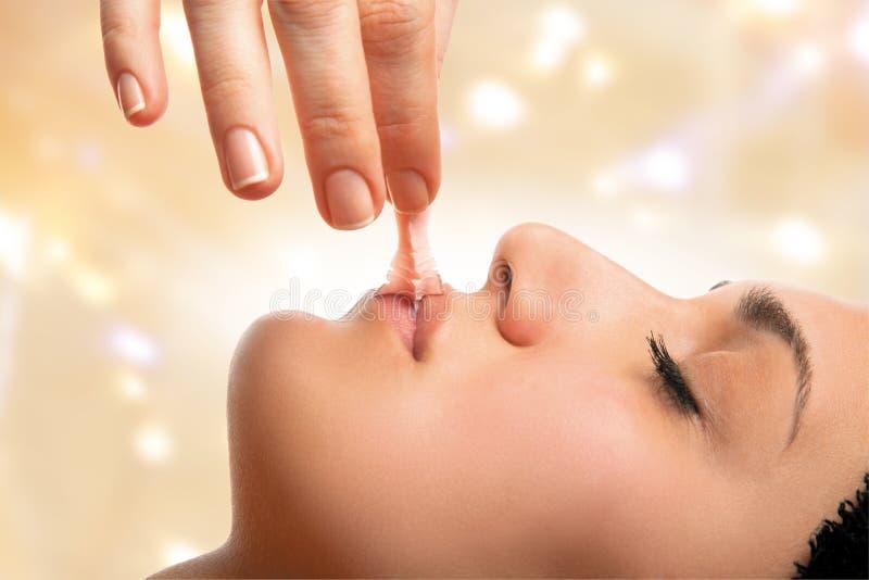 Θεραπεία χειλικών μασκών στοκ εικόνες με δικαίωμα ελεύθερης χρήσης