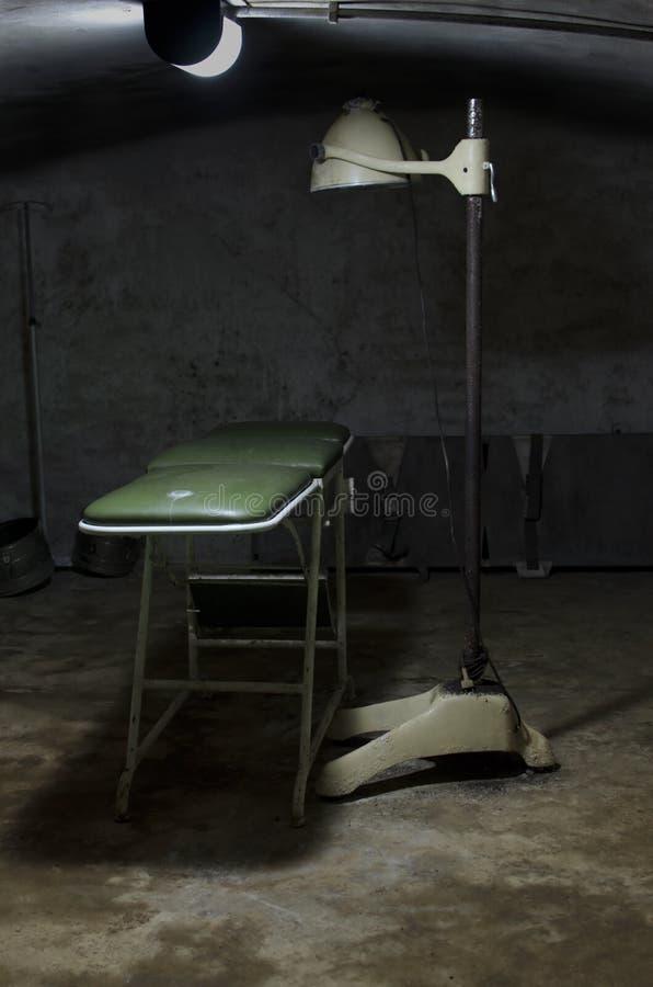Θεραπευτήριο που εγκαταλείπεται στοκ εικόνα