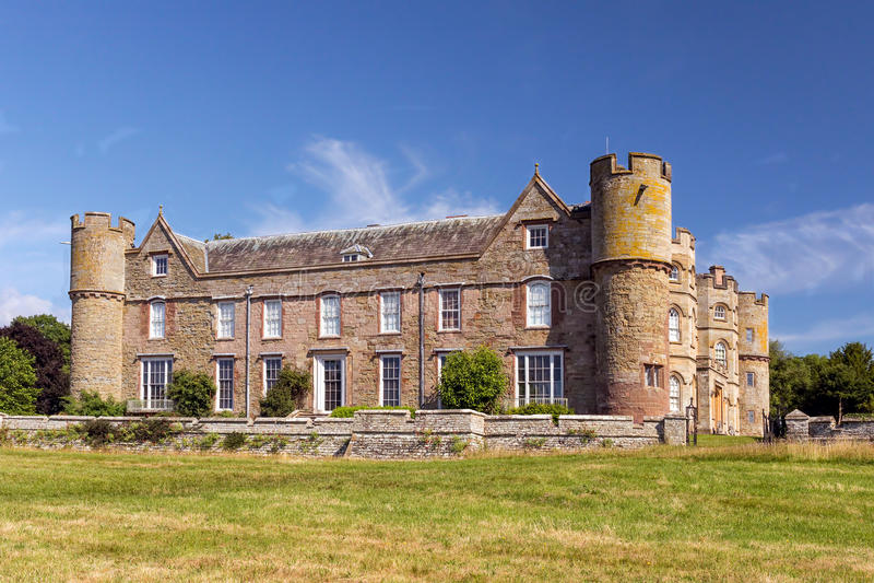 Θερθαδο Castle, Herefordshire, Αγγλία στοκ φωτογραφίες με δικαίωμα ελεύθερης χρήσης