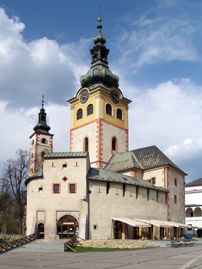 Πόλη Castle σε Banska Bystrica στοκ εικόνες