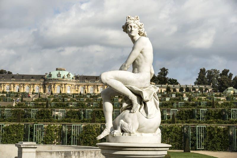 Θερινή κατοικία των γερμανικών βασιλιάδων στοκ φωτογραφία με δικαίωμα ελεύθερης χρήσης