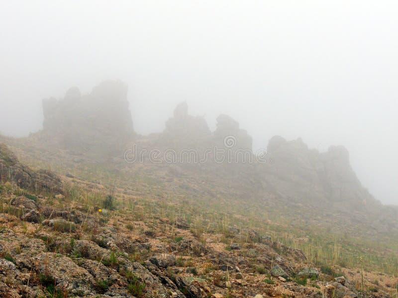 Θερινή ομίχλη στοκ φωτογραφία