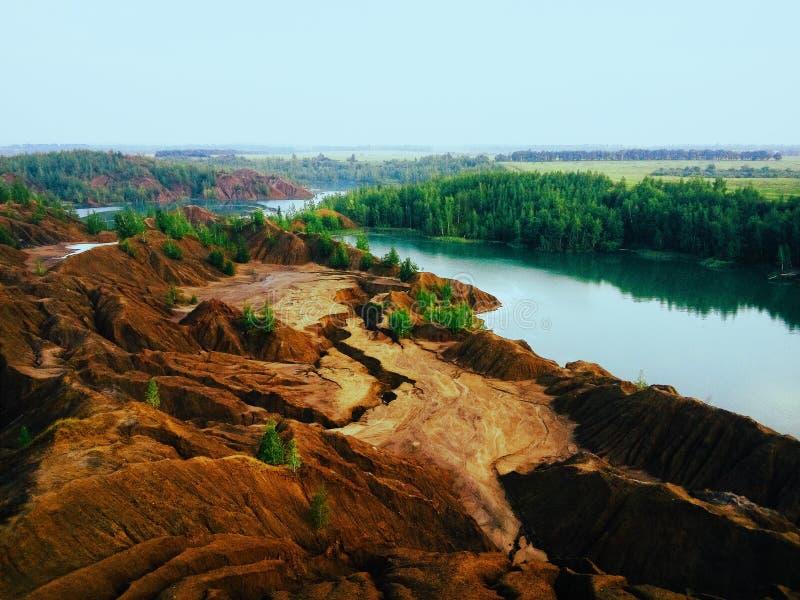 Θερινοί λόφοι στοκ φωτογραφίες με δικαίωμα ελεύθερης χρήσης